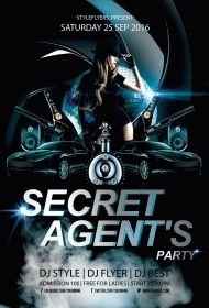 secret-agent's-party-flyer