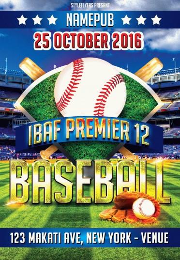 Baseball-IBAF-Premier-12
