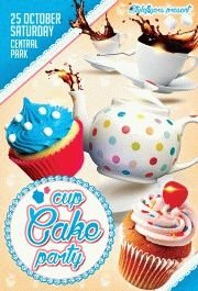 CUP-Cake-party-flyer-