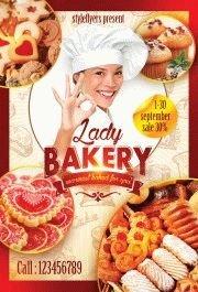 Lady-baker