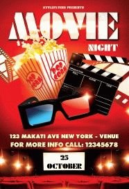 Movie-night---party-flyer