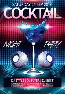 cocktail-night-party--flyer-