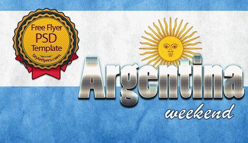 Argentina Weekend Flyer