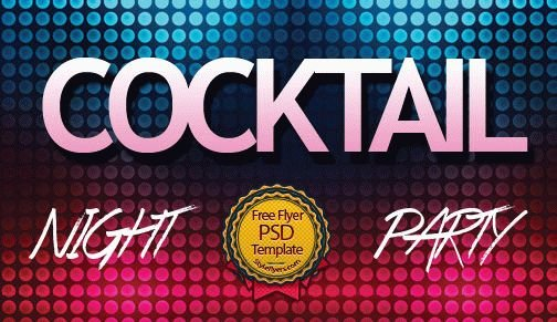 Cocktail Night Party Flyer