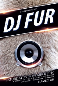 Dj-Fur-Party-flyer
