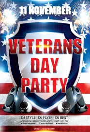 november-11-veterans-day-party-flyer