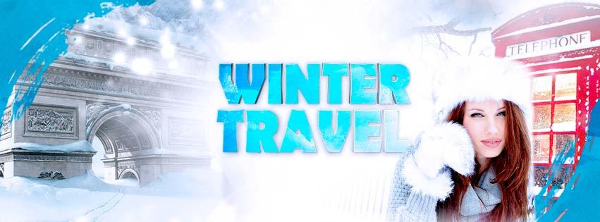Winter Travel Flyer PSD Template