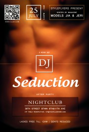 seduction flyer