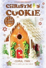 Christmas-cookie-Party-flyer