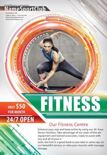 Fitness—sport-flyer