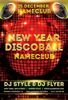 New-year-Discoball