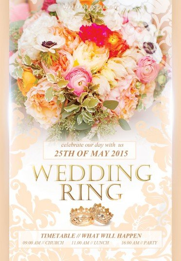 Wedding-ring-–-wedding-flyer