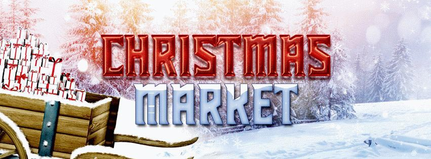 Christmas Market PSD Flyer Template