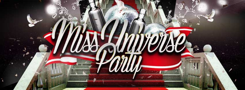 Miss Universe PSD Flyer Template