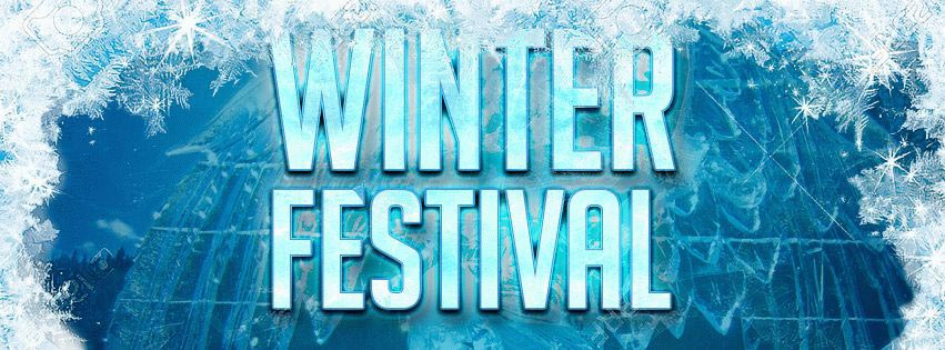 Winter Festival PSD Flyer Template