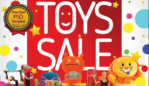 Toys Sale Flyer