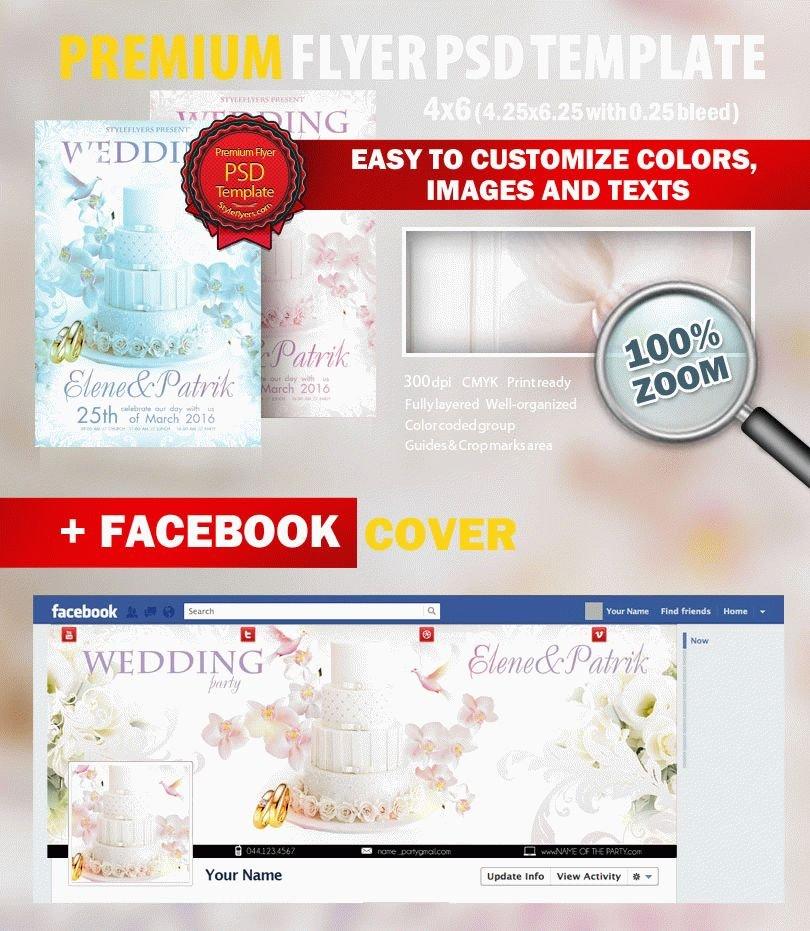 Wedding Photographer PSD Flyer Template