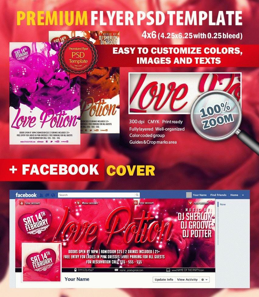 Christmas sale PSD Flyer Template