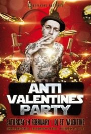 anti valentine party