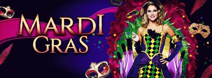 MardiGras PSD Flyer Template