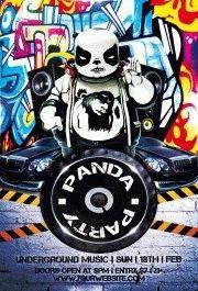 panda bear party