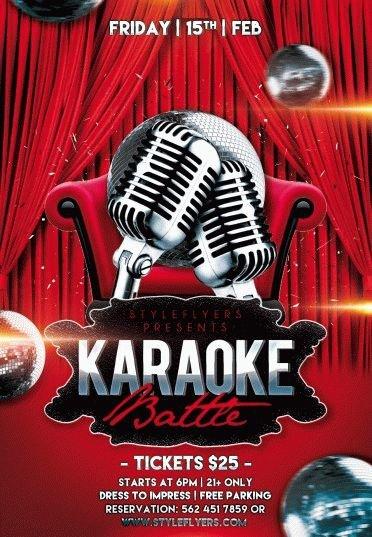 Karaoke battle
