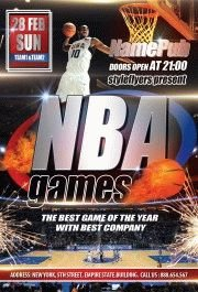 NBA-Games-(Sport-flyer)_
