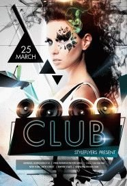 Club Flyer PSD Flyer Template