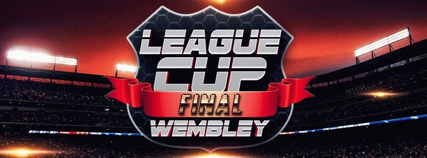 League Cup Final PSD Flyer Template