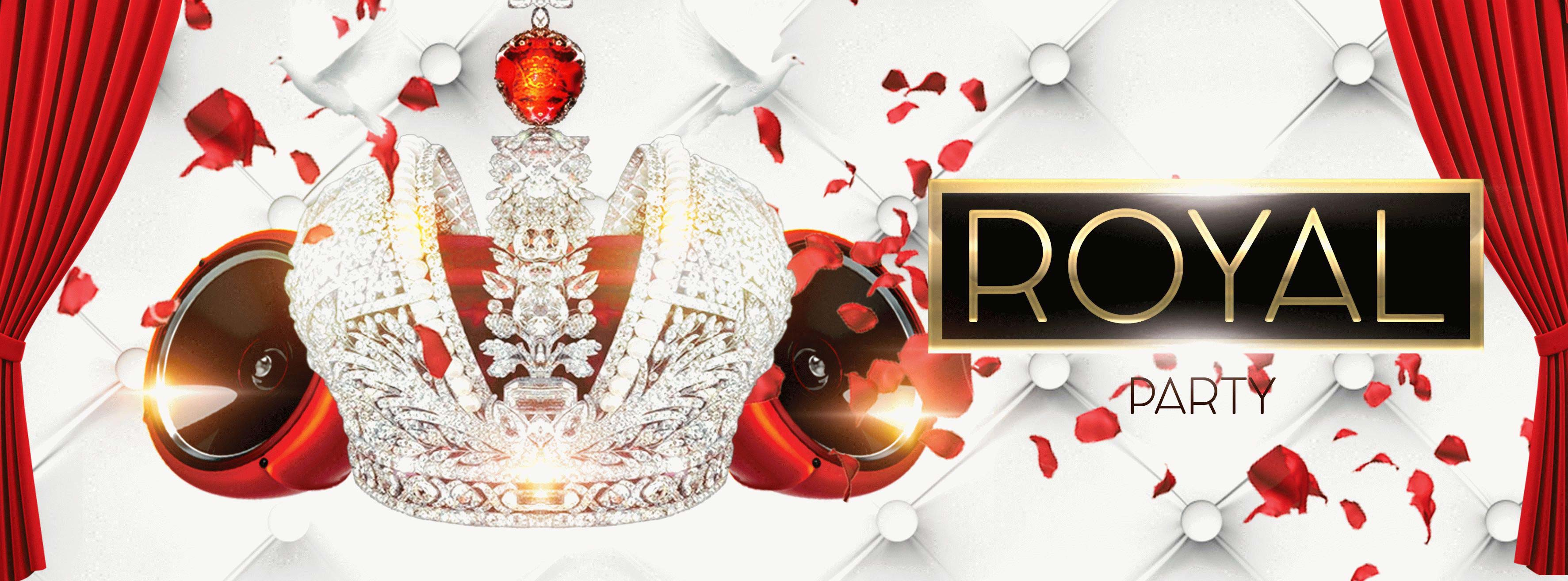 Royal party PSD Flyer Template