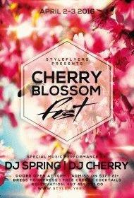 cherry blossom fest