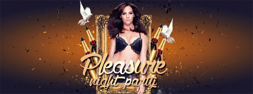 Pleasure Night Party PSD Flyer Template