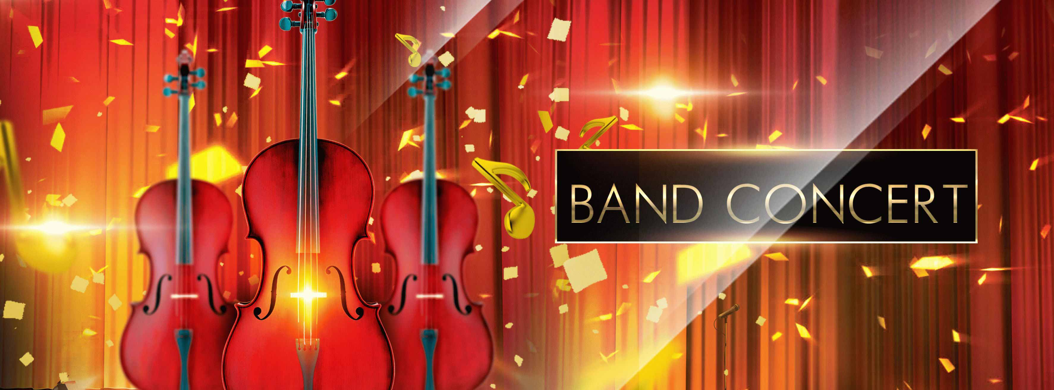 Band Concert PSD Flyer Template