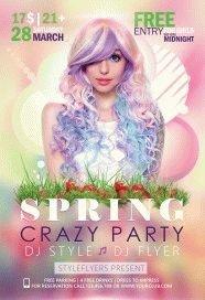 spring crazy party