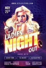 Ladies-NIght-Out-PSD-Flyer-Template