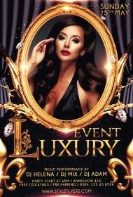 Luxury event Day PSD Flyer Template2