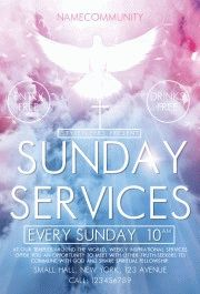 Sunday-Services(community)