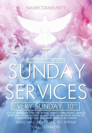 Sunday-Services(community)