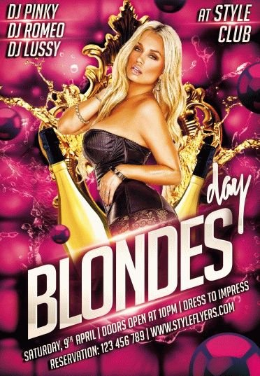 blondes-day-PSD-Flyer-Template