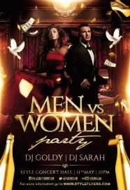 men-vs-women-PSD-Flyer-Template