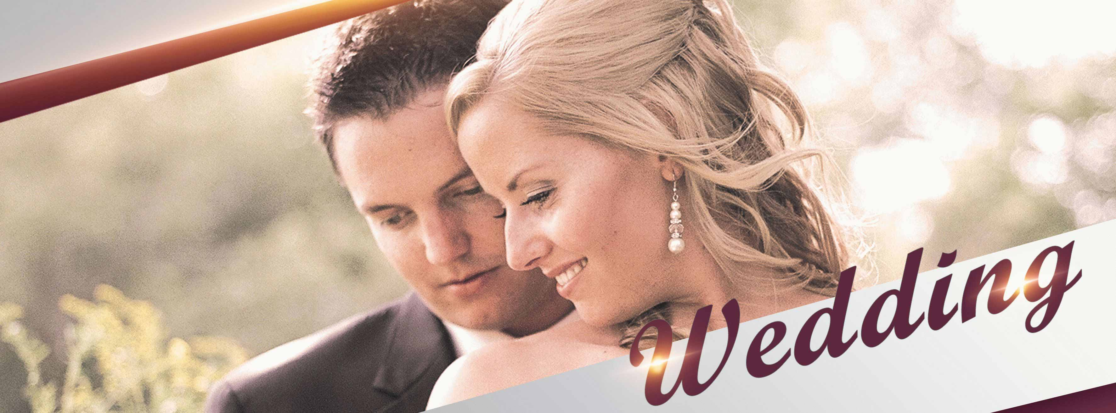 Wedding PSD Flyer Template
