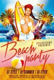 Beach-Party-PSD-Flyer-Template