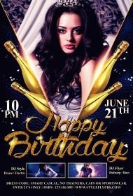 Birthday-PSD-Flyer-Template