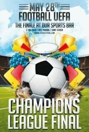 Champions-League-PSD-Flyer-Template
