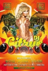 DJ-Citrus-PSD-Flyer-Template