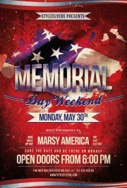 Memorial-Day-PSD-Flyer-Template