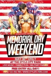 Memorial-Day-Weekend-PSD-Flyer-Template