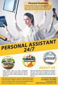 Personal-Assistant-PSD-Flyer-Template