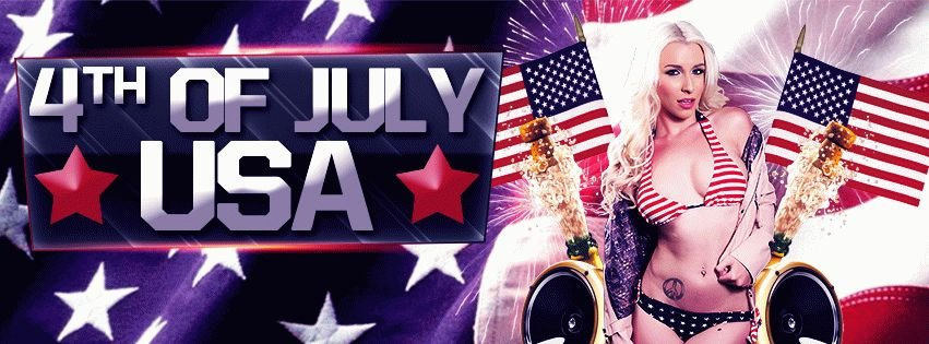 4TH OF JULY USA  PSD Flyer Template