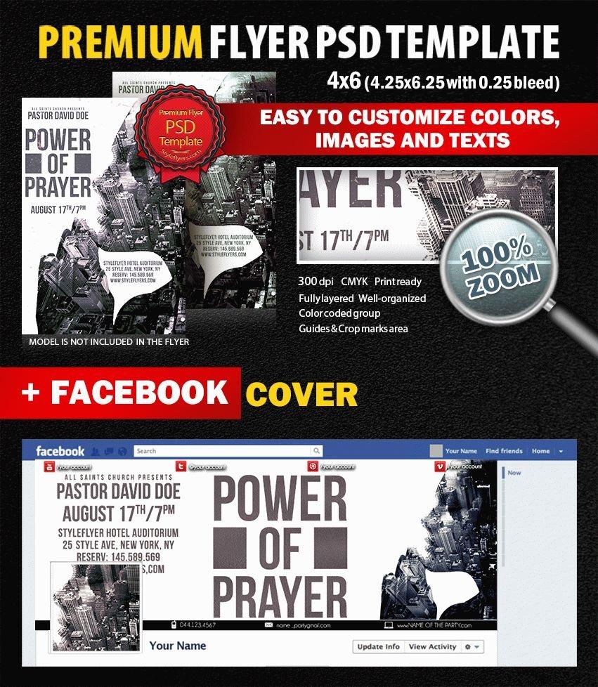Power of Prayer PSD Flyer Template